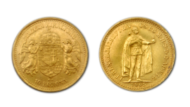 10 Korona Goldmünze