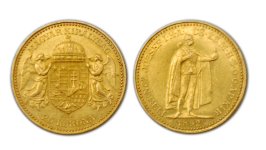 20 Korona Goldmünze
