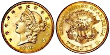 Double Eagle Goldmünze USA